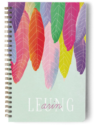 Feather Wild One Day Planner, Notebook, or Address Book