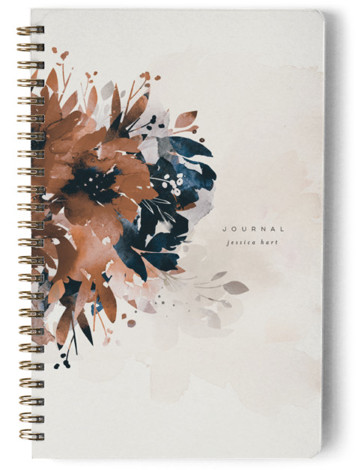 Bloom Day Planner, Notebook, Or Address Book