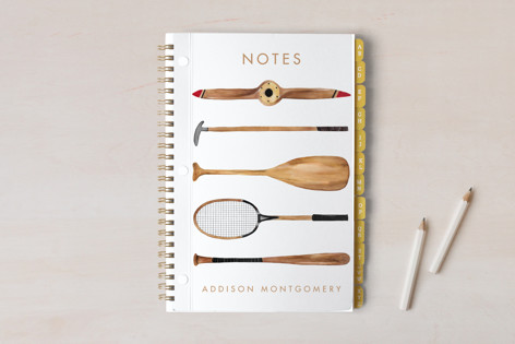 Sports On Sports Notebooks