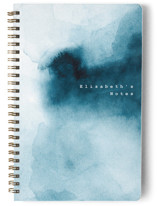 This is a blue journal by Anastasia Makarova called storm with standard printing on premium cover stock in notebook.