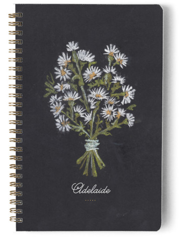 Wildflowers Day Planner, Notebook, Or Address Book