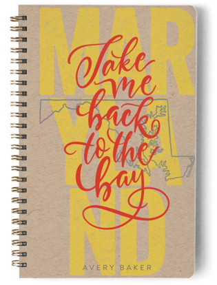 Maryland Living Day Planner, Notebook, or Address Book