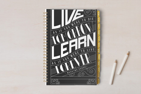 How To Live And Learn Notebooks