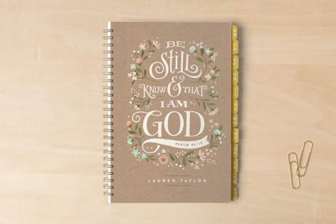 Be Still Notebooks