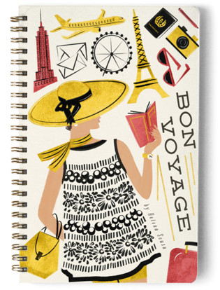 Travelling The World Day Planner, Notebook, or Address Book