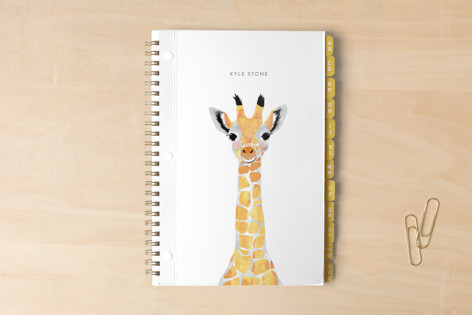 Baby Animal Giraffe Notebooks