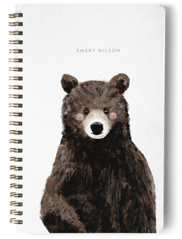 Baby Animal Bear Day Planner, Notebook, Or Address Book