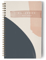 This is a blue journal by Creo Study called Moody Sunset with standard printing on premium cover stock in notebook.