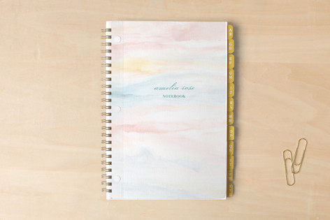 Gentle Waves Notebook Notebooks
