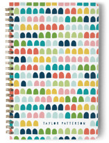 This is a colorful journal by Michelle Taylor called Gum Drops with standard printing on premium cover stock in notebook.