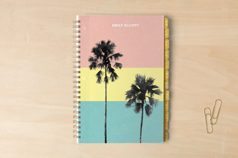 Palm Tree Silhouette Notebooks