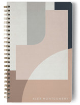 This is a pink journal by Jennifer Morehead called Red Sun with standard printing on premium cover stock in notebook.