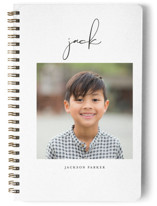 This is a black journal by Lehan Veenker called Just Me with standard printing on premium cover stock in notebook.