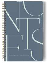 This is a blue journal by Iveta Angelova called Elegant Notes with standard printing on premium cover stock in notebook.