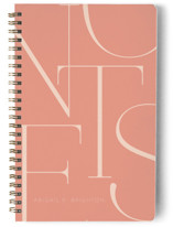This is a orange journal by Iveta Angelova called Elegant Notes with standard printing on premium cover stock in notebook.