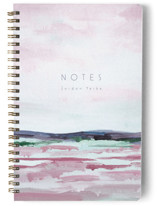 This is a purple journal by Nicole Walsh called Looking Ahead with standard printing on premium cover stock in notebook.