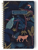 This is a blue journal by Elly called Wild Spirit with standard printing on premium cover stock in notebook.