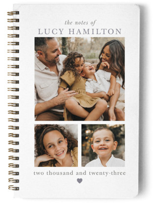 Family Notes Day Planner, Notebook, Or Address Book