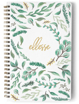This is a yellow journal by Ellesse Smith called Nature Lover with standard printing on premium cover stock in notebook.