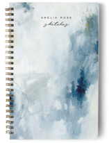 This is a blue journal by Nicoletta Savod called Abstract with standard printing on premium cover stock in notebook.