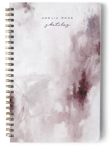 This is a purple journal by Nicoletta Savod called Abstract with standard printing on premium cover stock in notebook.