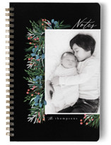 This is a black journal by Ashlee Townsend called Garden Edge with standard printing on premium cover stock in notebook.