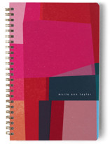 This is a pink journal by Sumak Studio called fabulous colors with standard printing on premium cover stock in notebook.