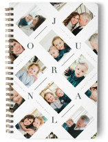 This is a white journal by Ana de Sousa called Beautiful Memories with standard printing on premium cover stock in notebook.