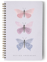 This is a purple journal by Karidy Walker called Butterfly Collection with standard printing on premium cover stock in notebook.