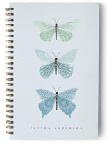 This is a blue journal by Karidy Walker called Butterfly Collection with standard printing on premium cover stock in notebook.