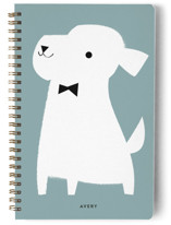 This is a green journal by Lori Wemple called Mr with standard printing on premium cover stock in notebook.