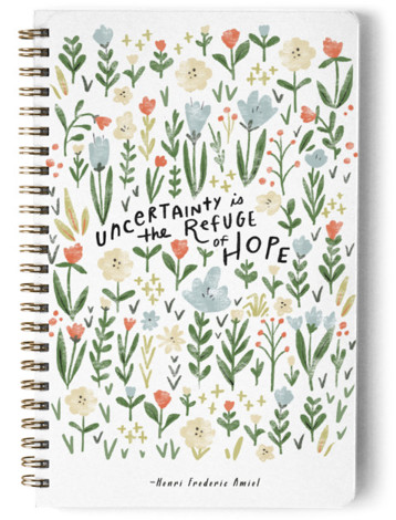 Wildflower Hope Day Planner, Notebook, Or Address Book