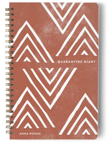 Quarantine Diary Day Planner, Notebook, Or Address Book