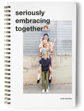 Seriously Embracing Together Day Planner, Notebook, Or Address Book