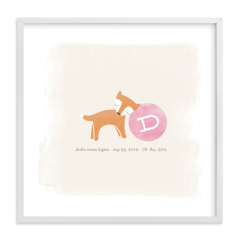 """""""Frolic"""" - Nursery Custom Art Print by nocciola design in beautiful frame options and a variety of sizes."""