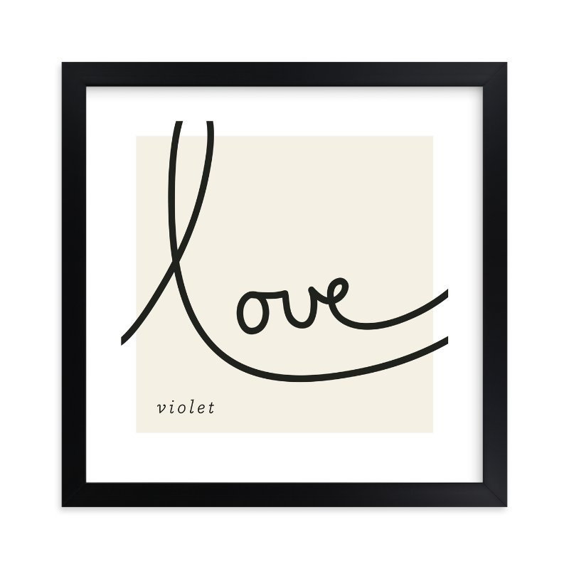 """Sweet Sophistication"" - Nursery Custom Art Print by Erin Pescetto in beautiful frame options and a variety of sizes."