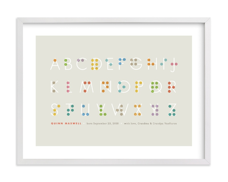 """""""Seen and Understood"""" - Nursery Custom Art Print by Jennifer Wick in beautiful frame options and a variety of sizes."""