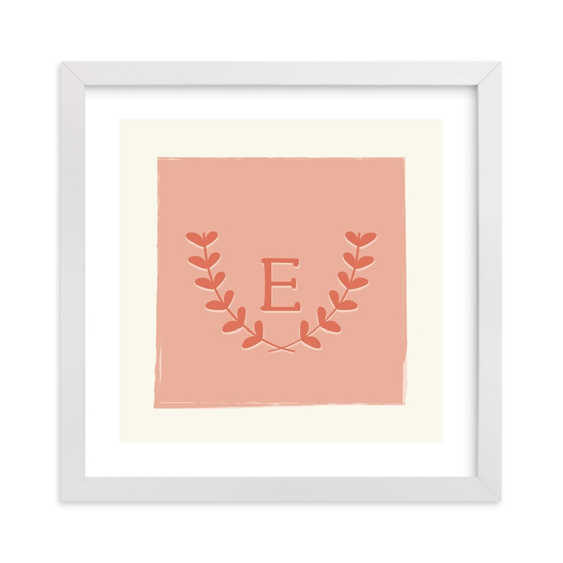 """""""Laurel"""" - Nursery Custom Art Print by Kim Dietrich Elam in beautiful frame options and a variety of sizes."""