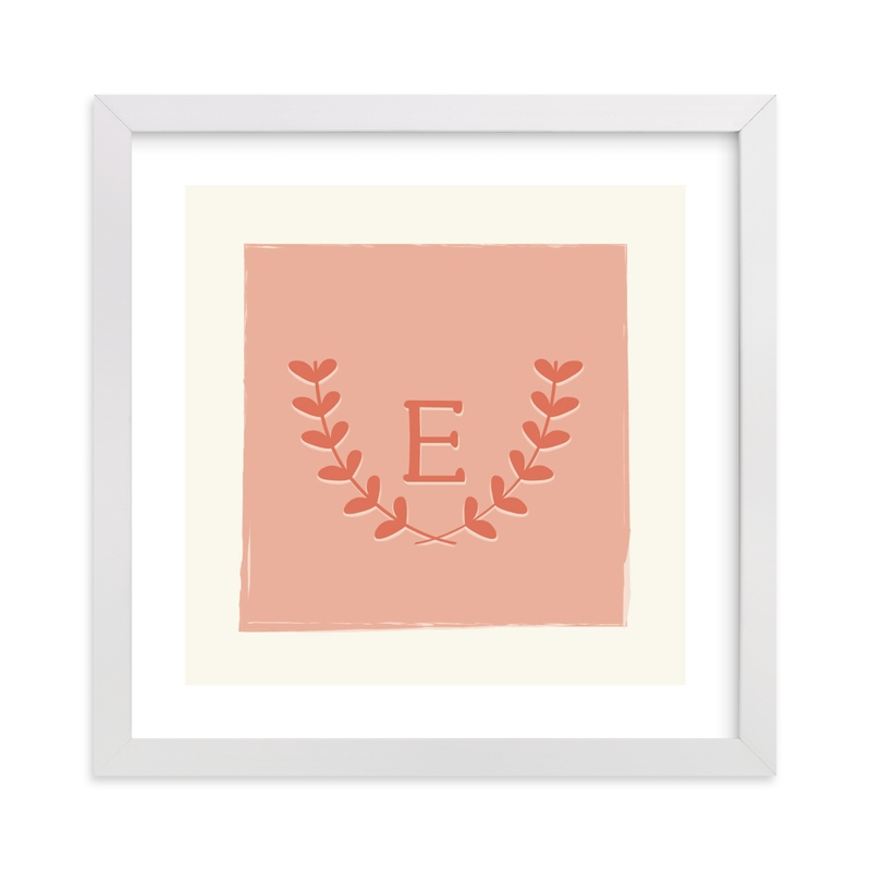 """Laurel"" - Nursery Custom Art Print by Kim Dietrich Elam in beautiful frame options and a variety of sizes."