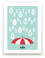Alphabet Showers by Jenny Batt