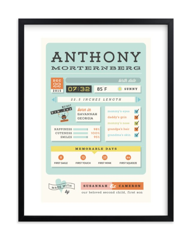 """Jelly Apps"" - Nursery Custom Art Print by chocomocacino in beautiful frame options and a variety of sizes."