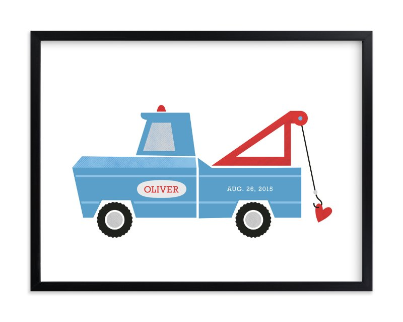 """Hook Line and Sinker"" - Nursery Custom Art Print by Frooted Design in beautiful frame options and a variety of sizes."