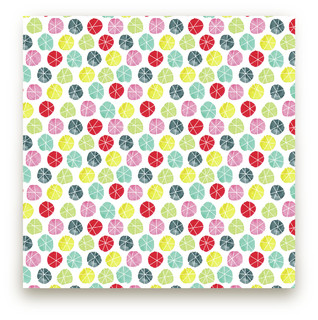 Stars In Circles Fabric
