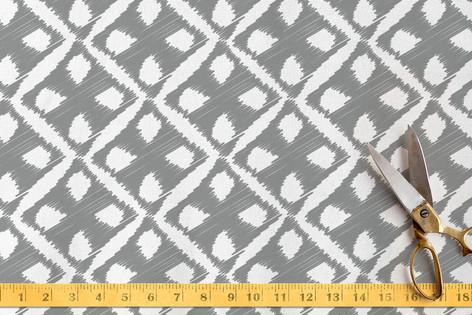 Sketchy Diamonds Fabric