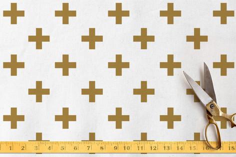 Modern Math Fabric