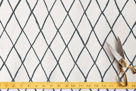 Criss-Crossed Fabric