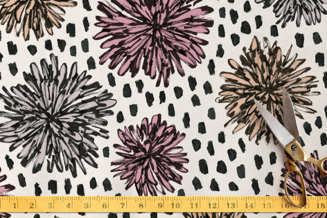 Graphic Florals Fabric