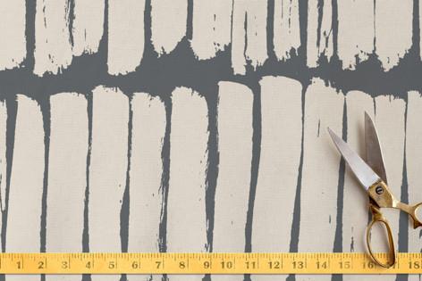 Ink stripes Fabric