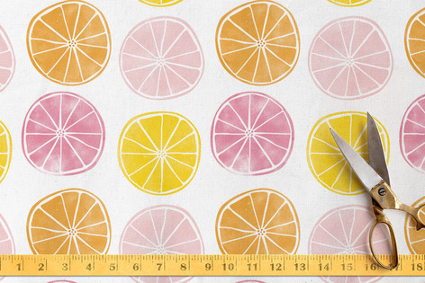 Summery Citrus Fabric