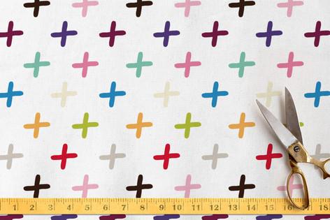 Cross the Rainbow Fabric